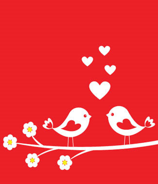 LOVE BIRDS GIFT CARD