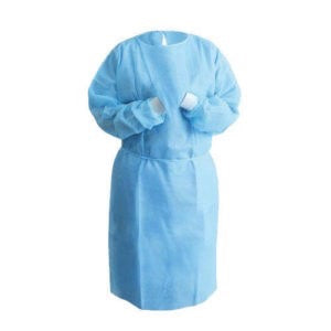 Disposable PP Isolation Gown Level 2 - 100pcs/box