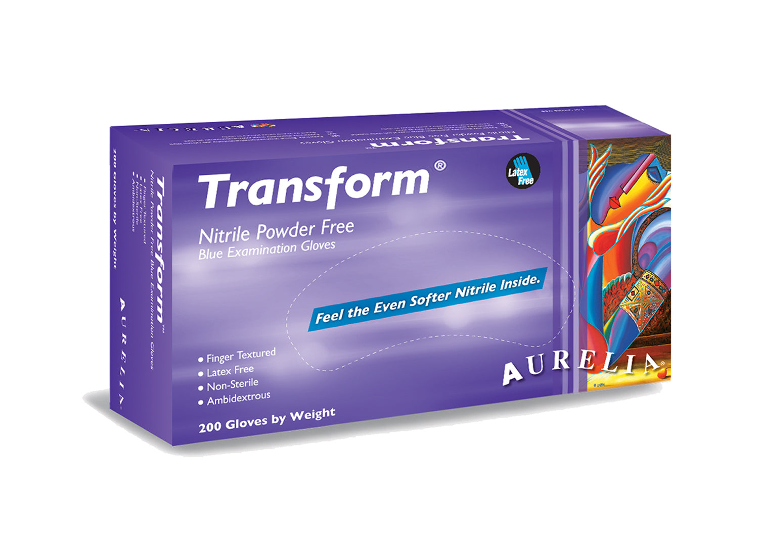 Aurelia chemo PF Exam nitrile Gloves. 200pcs/box.Overstock price drop