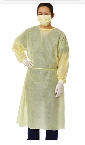 Disposable PP Medical Isolation Gown 100pcs/box