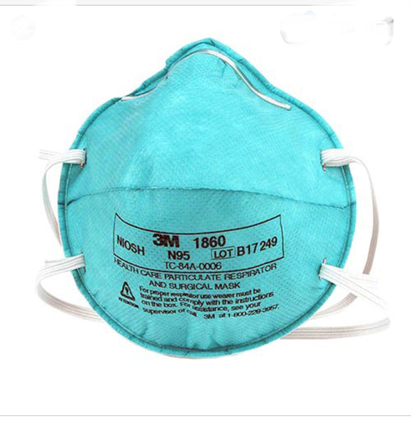 3M mask N95 1860. 20 pcs/box