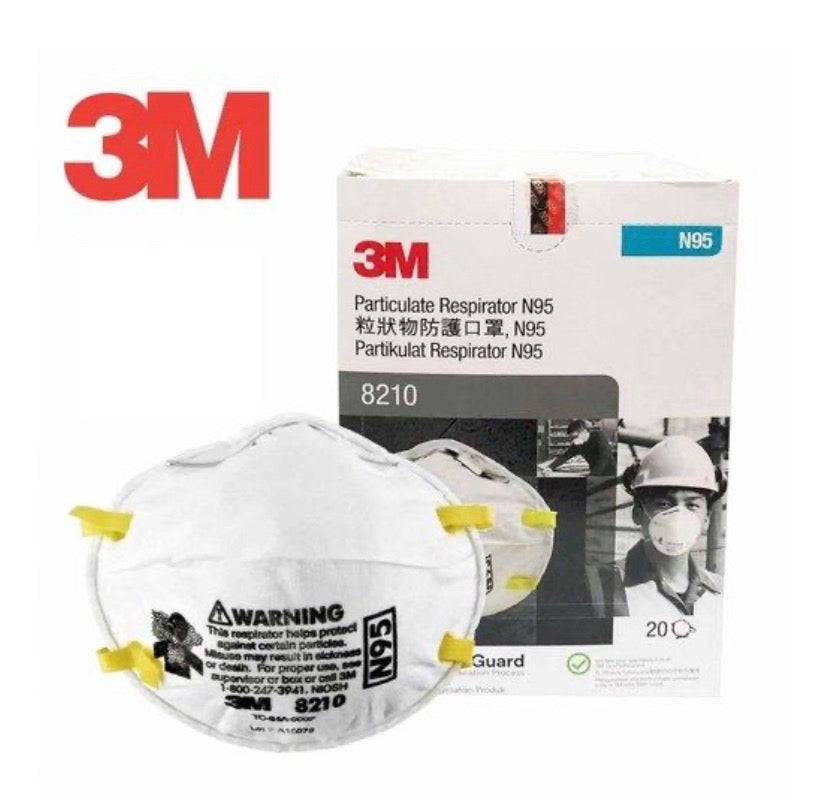3M Particulate Respirator N95 8210 - 20pcs/box
