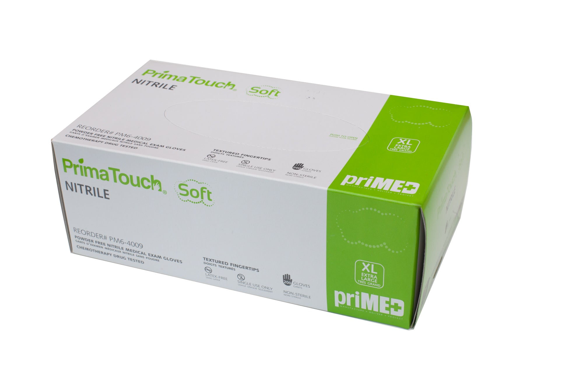 Prima Touch Soft PF XL Nitrile Exam Gloves 200/box.Overstock price drop.
