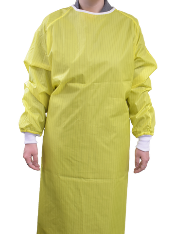 Reusable/Washable Isolation Gown LEVEL 3 Reversible 12pcs/box (ONE SIZE FITS MOST)