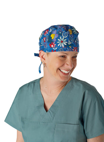 Deluxe Surgeon's Cap Washable/Reusable 12pcs/box