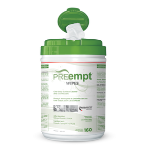 PREempt Cleaner for Surfaces Wipes 160 units