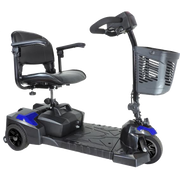 Drive Medical - Scout 3 Wheel Mobility Scooter Extended Range