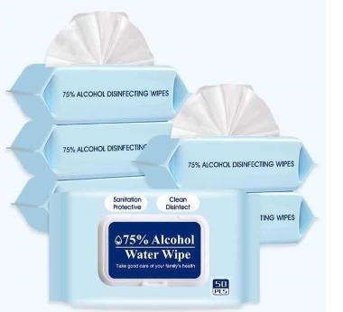 Alcohol Wipes (50 Pieces)