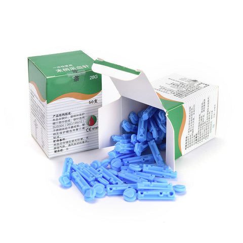 Disposable Sterile Lancets 28g - 50/box