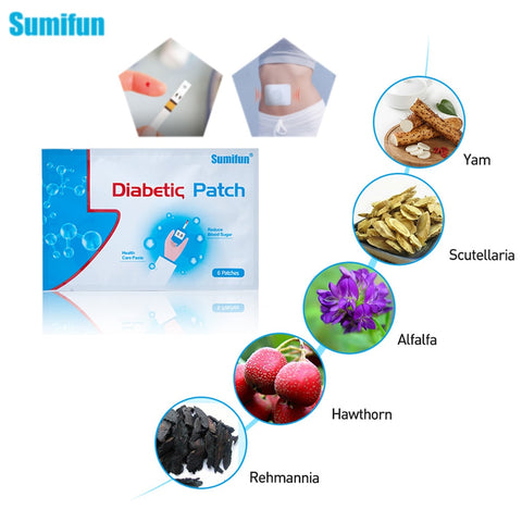 Herbal Diabetes Patch To Stabilizes Blood Sugar Level