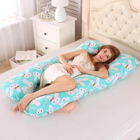 U-shaped Pregnancy Pillows Women Pregnant Side Sleepers