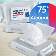 75% Disinfecting Alcohol Wipes - 50 or 40 per pack