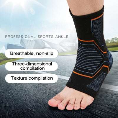 1 PCS Ankle Brace Compression Support Sleeve Elastic Breathable for Injury Recovery Joint Pain basket Foot Sports Socks