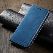 Magnetic Flip Leather Case for iPhone