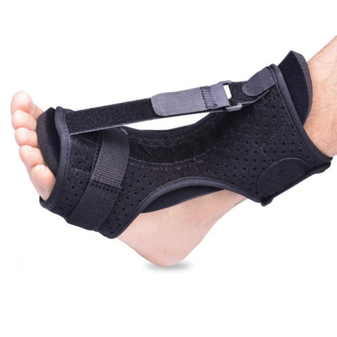 1pc Adjustable Plantar Fasciitis Night Foot Splint Drop Orthotic Brace Elastic Dorsal Night Splint Foot Care Tool