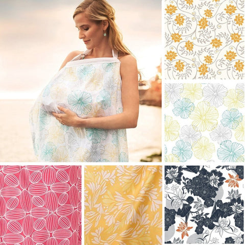 Breastfeeding Cover Muslin Nursing Cloth