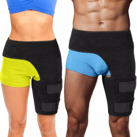 Compression Brace For Hip Sciatica Nerve Pain Relief Thigh Joints Arthritis Groin Wrap Brace Protector Belt  Sport Support