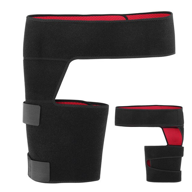 Adjustable Groin Support Wrap Hip Joint Support Waist Groin Sacrum Pain Relief Strain Arthritis Protector Hip Thigh Brace
