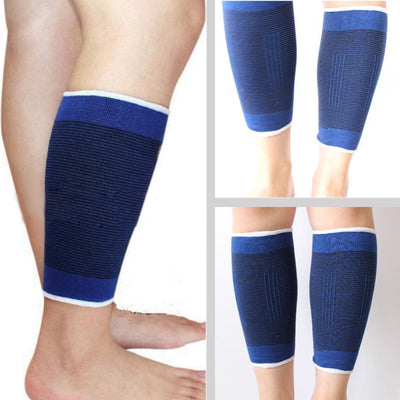 Hot Sale Sport And Fitness Thigh Knitted Thick Sponge Basketball Crash Support Brace Pads Calf