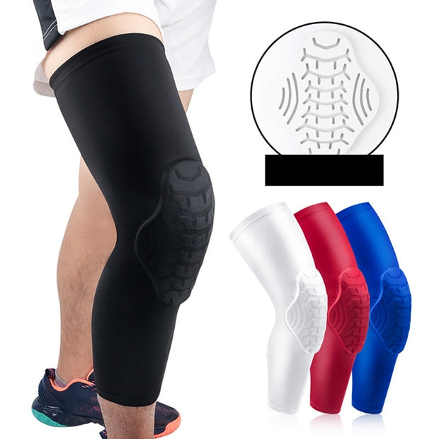 Compression Leg Sleeve Basketball Knee Pads