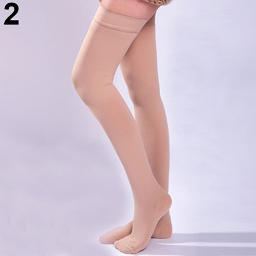 Casual Knee-High Compression Stockings