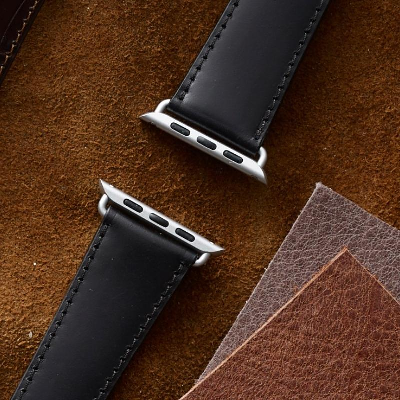 Apple Watch Armbänder aus Shell Cordovan
