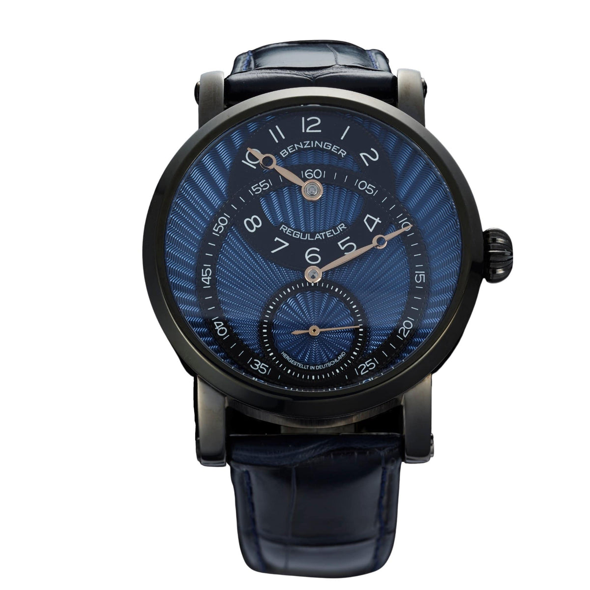 Regulator Blue Black 42mm von Jochen Benzinger - MANUFAKTURWERK