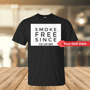 Smoke Free SinceCotton T-Shirt