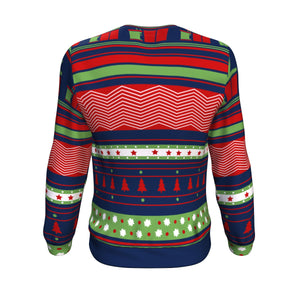 Ugly Christmas Sweater - Santa Likes Flavors Too!