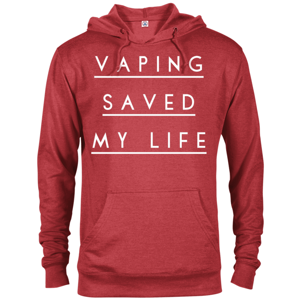Vaping Saved My Life Delta French Terry Hoodie
