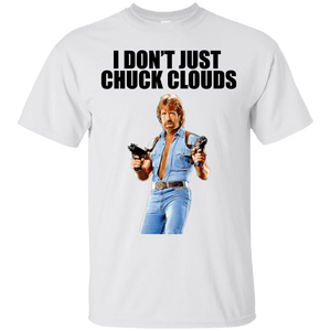 I Chuck Norris Clouds T-Shirt