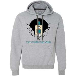 Stop Smoking. Start Vaping. Heavyweight Pullover Fleece Sweatshirt