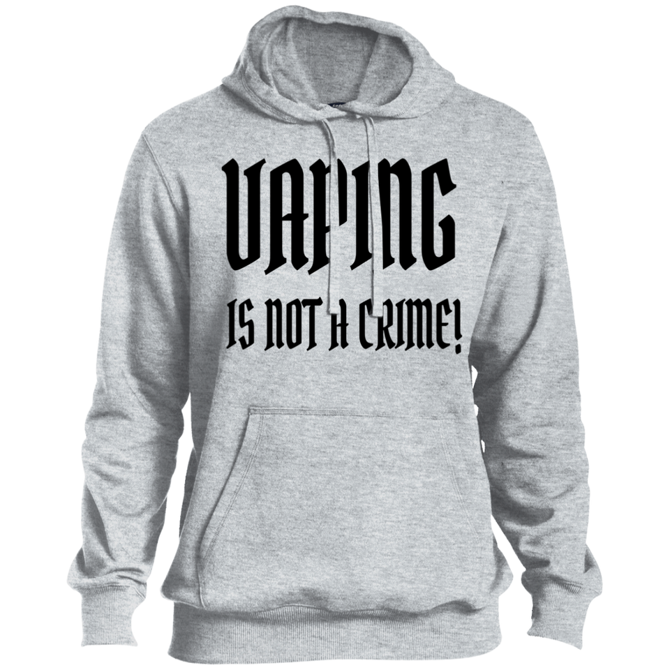 Vaping Is Not A Crime (Black) ST254 Pullover Hoodie