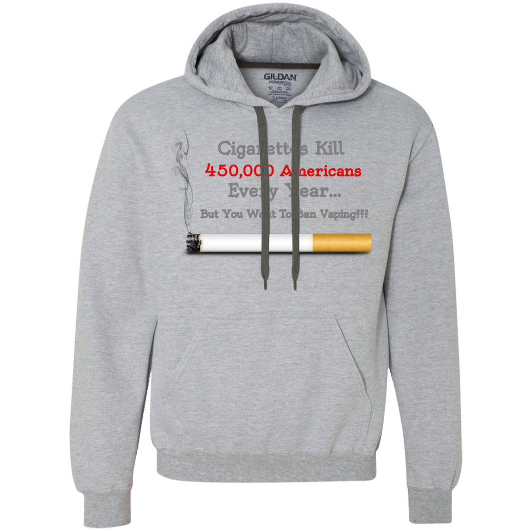 Cigarettes Kill Pullover Fleece Sweatshirt