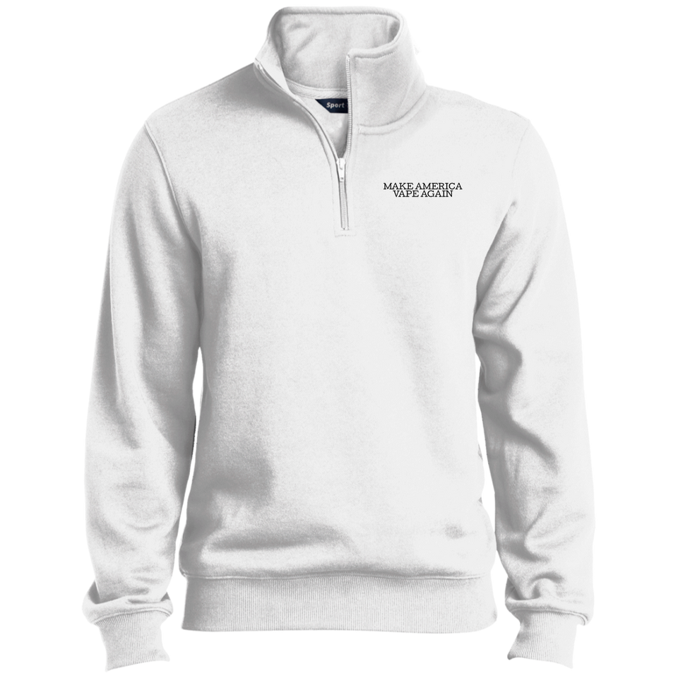 Make America Vape Again 1/4 Zip Sweatshirt