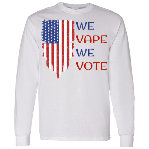 We Vape, We Vote T-Shirt 5.3 oz.