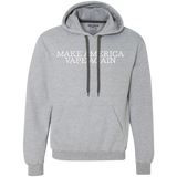 Make America Vape Again (White) Heavyweight Pullover Fleece Sweatshirt