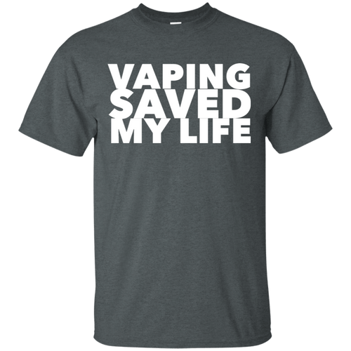 Vaping Saved My Life Cotton T-Shirt