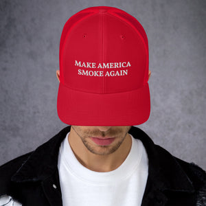 Make America Smoke Again Trucker Cap