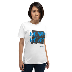 We Vape We Vote New Mexico Short-Sleeve Unisex T-Shirt