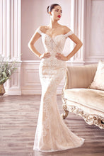 Load image into Gallery viewer, Bradley Wedding Dress Off the Shoulder Lace Bridal Gown C402THR SAMPLE IN STOCK