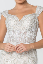 Load image into Gallery viewer, Lynn Wedding Dress Jewel Encrusted Lace Mermaid Bridal Gown G2822HAR-Ivory/champagne