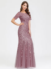 Load image into Gallery viewer, Magnolia Formal Dress in Rose Petal Mermaid Gown E7707HK-RosePetal SAMPLE IN STORE
