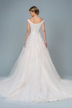 Load image into Gallery viewer, Raquel Wedding Dress Off the Shoulder Ballgown Bridal Gown G1800HAR-Ivory