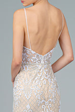 Load image into Gallery viewer, Tawny Wedding Dress Nude with Silver and White G2990XR SAMPLE IN STORE