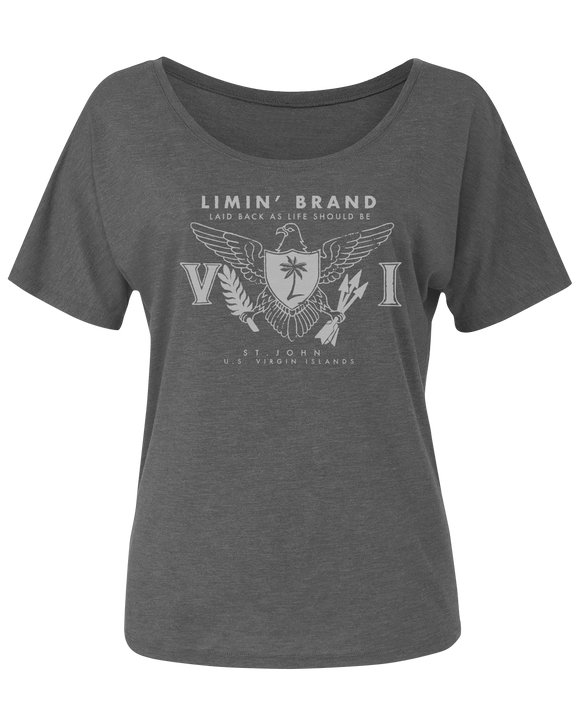 Ladies US Virgin Island  Relaxed Tee