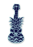 Pineapple Guitar Sticker