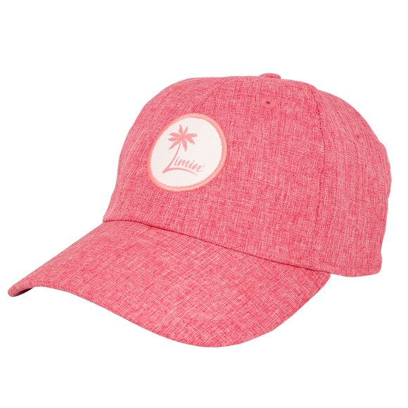 Ladies Logo Patch Hat - Chambary Red