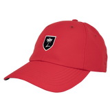 Palm Shield Performance Hat - Golf Red