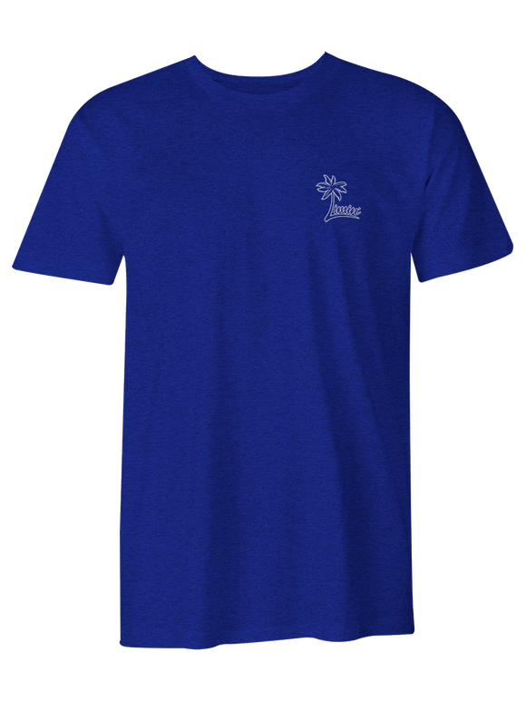 Men's Palm Logo T-shirt - True Blue